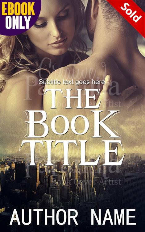Book Cover Design Romance : Romance in city premade book cover
